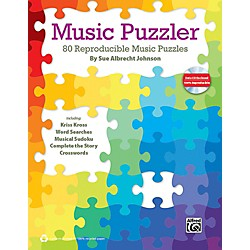 Alfred Music Puzzler Book & Data CD (00-39991)