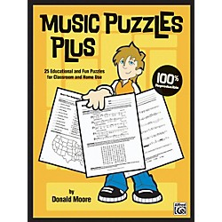 Alfred Music Puzzles Plus Book (00-23857)