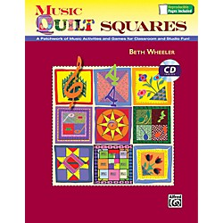 Alfred Music Quilt Squares Book and Data CD (00-41970)