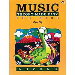 Alfred Music Theory Made Easy for Kids Level 2 Book (98-MP300502US)