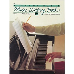 Alfred Music Writing Book (9 x 12) 12-Stave (00-184)