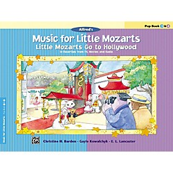 Alfred Music for Little Mozarts: Little Mozarts Go to Hollywood Pop Book 3 & 4 (00-29095)