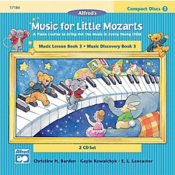 Alfred Music for Little Mozarts CD 2-Disk Sets for Lesson and Discovery Books Level 3 Level 3 (00-17184)