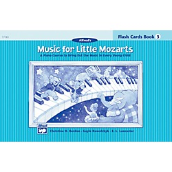 Alfred Music for Little Mozarts Flash Cards Level 3 Level 3 (00-17183)