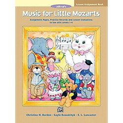 Alfred Music for Little Mozarts Lesson Assignment Book (00-17488)