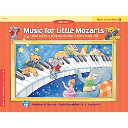 Alfred Music for Little Mozarts Music Lesson Book 1 (00-14577)