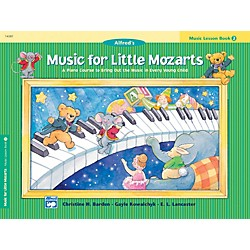 Alfred Music for Little Mozarts Music Lesson Book 2 (00-14581)