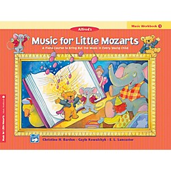 Alfred Music for Little Mozarts Music Workbook 1 Book 1 (00-14580)