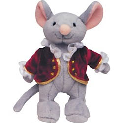 Alfred Music for Little Mozarts Plush Toy -- Mozart Mouse (Level 1-4) (00-14653)