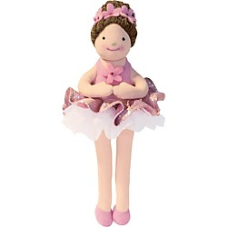 Alfred Music for Little Mozarts Plush Toy -- Nina Ballerina (Level 3-4) (00-21229)