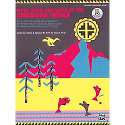 Alfred Myth, Music and Dance of the American Indian Book/CD (00-16415)