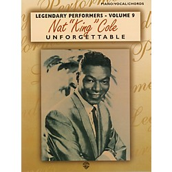 "Alfred Nat ""King"" Cole Unforgettable Piano/Vocal/Chords Book (00-TPF0150)"