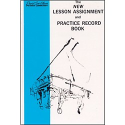 Alfred New Lesson Assignment and Practice Record Book (00-FDL00387)