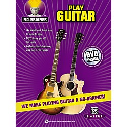 Alfred No-Brainer Play Guitar Book & CD (00-33420)