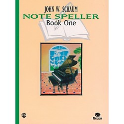 Alfred Note Speller, Book 1 (Revised) Book (00-EL00159A)