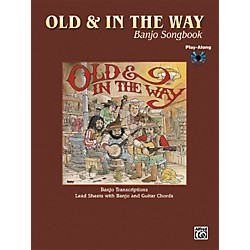 Alfred Old and In The Way Banjo & Guitar Chord Book with CD (00-PGM0430)