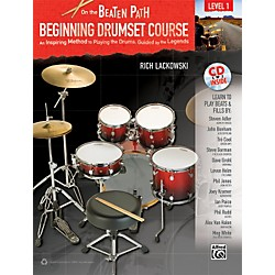 Alfred On the Beaten Path Beginning Drumset Course Level 1 with CD (00-33245)