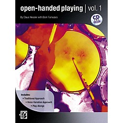 Alfred Open-Handed Playing Volume 1 Book & CD (00-30596)