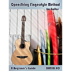 Alfred Open-String Fingerstyle Method for Guitar By Daniel Ho Book & CD (98-DHC80075)