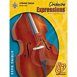 Alfred Orchestra Expressions Book One Student Edition String Bass Book & CD 1 (00-EMCO1005CD)