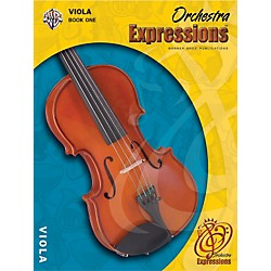 Alfred Orchestra Expressions Book One Student Edition Viola Book & CD 1 (00-EMCO1003CD)