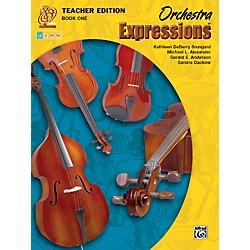 Alfred Orchestra Expressions Book One Teacher Edition Teacher Curriculum Package (00-EMCO1001)