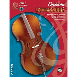 Alfred Orchestra Expressions Book Two Student Edition Cello Book & CD 1 (00-EMCO2004CD)