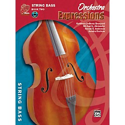 Alfred Orchestra Expressions Book Two Student Edition String Bass Book & CD 1 (00-EMCO2005CD)