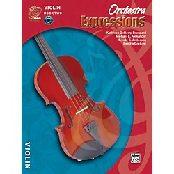 Alfred Orchestra Expressions Book Two Student Edition Violin Book & CD 1 (00-EMCO2002CD)