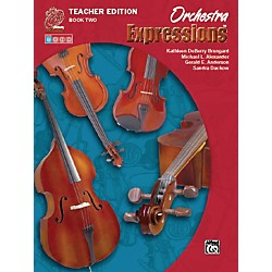 Alfred Orchestra Expressions Book Two Teacher Edition Teacher Curriculum Package (00-EMCO2001)