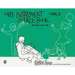 Alfred Orff Instrument Source Book Volume 2 (00-SB01037)