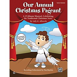Alfred Our Annual Christmas Pageant Book & CD (00-41832)