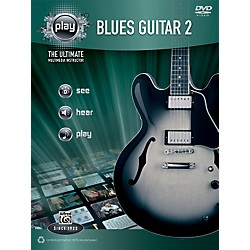 Alfred PLAY Series  Blues Guitar 2 Book & DVD (00-34187)