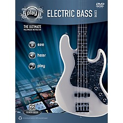 Alfred PLAY Series  Electric Bass Basics Book & DVD (00-34207)