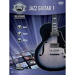 Alfred PLAY Series  Jazz Guitar 1 Book & DVD (00-34199)