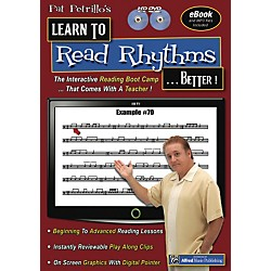 Alfred Pat Petrillos Learn to Read Rhythms . . . Better!  2 DVDs (98-8527129)