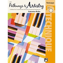 Alfred Pathways to Artistry Technique Book 1 (00-16597)