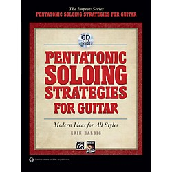 Alfred Pentatonic Soloing Strategies for Guitar Book & CD (00-35302)