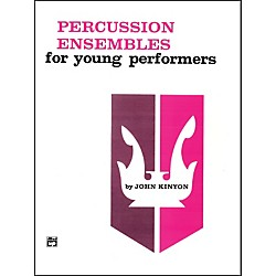 Alfred Percussion Ensembles for Young Performers Snare Drum Bass Drum & Accessories (00-780)