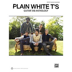 Alfred Plain White T's Guitar TAB Anthology Book (322457)