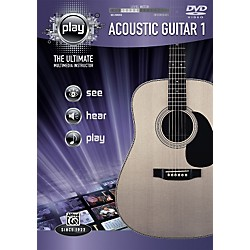 Alfred Play Series Acoustic Guitar 1 (DVD) (00-34189)