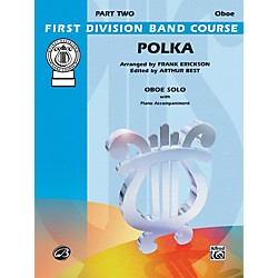 Alfred Polka Oboe Solo First Division Band Course (00-FDS00061)