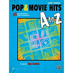 Alfred Pop & Movie Hits A to Z Easy Piano Book (00-39465)