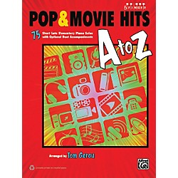 Alfred Pop & Movie Hits A to Z Five Finger Piano Book (00-39463)