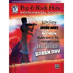 Alfred Pop & Rock Hits Instrumental Solos Viola Book & CD (00-37442)