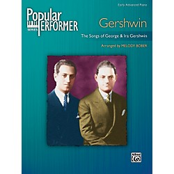 Alfred Popular Performer Gershwin (00-31802)