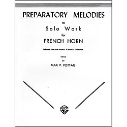 Alfred Preparatory Melodies to Solo Work for French Horn (from Schantl) Book (00-EL00082)