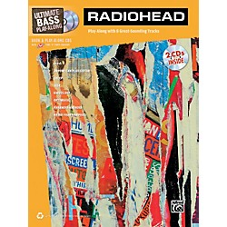 Alfred Radiohead Ultimate Play-Along Bass TAB Book & 2 CDs (704140)
