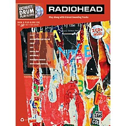 Alfred Radiohead Ultimate Play-Along Drum Book & 2 CDs (322456)