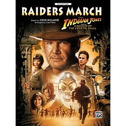 Alfred Raiders March (from Indiana Jones and the Kingdom of the Crystal Skull) Big Note Piano (00-31384)